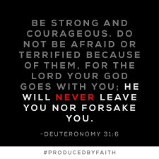 Be Strong And Courageous Quotes Awesome DeVon Franklin On Twitter Be Strong And Courageous Bible Quotes