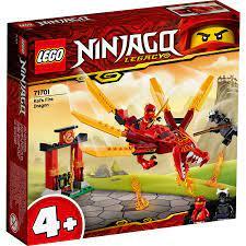 Đồ Chơi Mô Hình Lắp Ráp LEGO NINJAGORồng Lửa Của Kai 71701 ( 81 Chi Tiết)