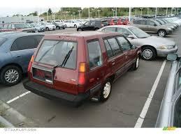 toyota tercel sr5 4wd wagon for sale | Wine Red Metallic 1987 ...