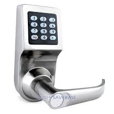electronic front door lockKeyless Front Doors  This Smart Door Lock Discovered By The