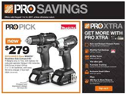 Home Depot Pro Savings Flyer August 1 To 14 Canada
