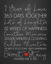 40 Year Anniversary Gifts First Anniversary 40st Year Paper Inspiration One Year Anniversary Quotes