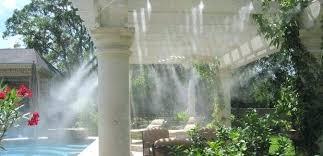 garden misting system outdoor misting system garden hose misting system