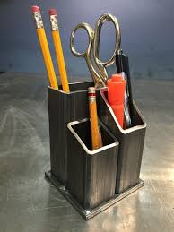 simple metal projects. desk organizer by yanick bluteau more simple metal projects _