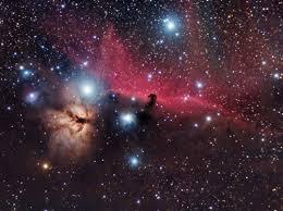 Mis cazas navideñas, nebulosa de la Flama+Cabeza de bruja - astronomo.org .