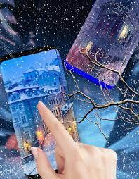 Animated Snow Fall Wallpaper HD Moving ...