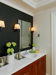 Accent Wall Bathroom Wallpaper Accent Wall In Bathroom A Wallppapers Gallery