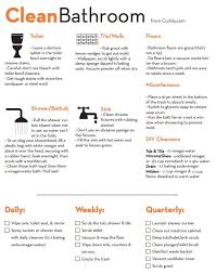 fast ways to clean a bathroom. bathroom cleaning check list cheat sheet | your organized life pinterest lists, free and organizing fast ways to clean a y