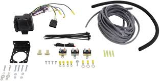 universal installation kit for trailer brake controller 7 way rv and 4 way flat 10 gauge wires etrailer accessories and parts etbc7