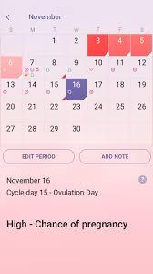 Pregnancy Callendar Period Tracker Ovulation Pregnancy Calendar 1 43 46 Apk