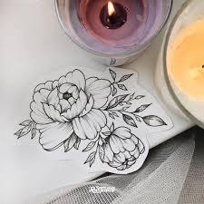 фото эскизы эскизы цветов в стиле вип шейдинг дотворк татуировки