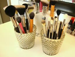 Decorations:Creative Ideas For Makeup Storage Beauty Makeup Storage Ideas  With Metal Eyeshadows Collection