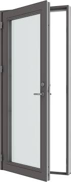 office entrance doors. VELFAC 500 Aluminium Door - For Use As A Main Entrance To Schools, Office Buildings Or Similar Applications Where Reliability, Stability And Strength Doors E