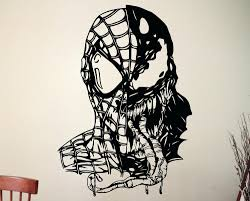Marvel 3d Wall Art Uk Marvel Posters B And Q Marvel 3d Wall Art Night  Lights Venom Spiderman Wall Art Sticker Marvel Comics Supervillain Vinyl  Decal ...