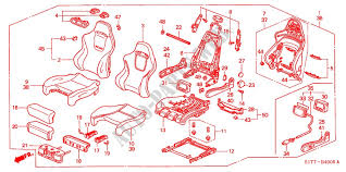 honda cars accord 2002 type r 5 sd manual upholstery front seat recaro