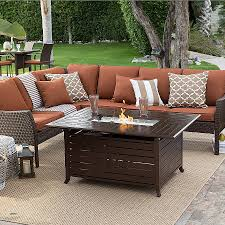 outdoor fire pit grill luxury luxury fire pit conversation patio furniture wicker conversation