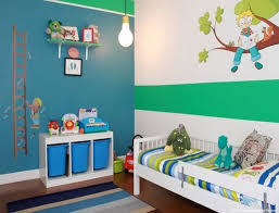 Lovely Cute Toddler Boy Bedroom Ideas With Mini Pendant Lamp And Wall Mural