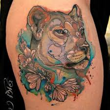 lioness tattoo. Plain Tattoo Find Some Inspiration With These Noble Lioness Tattoos Inside Lioness Tattoo I