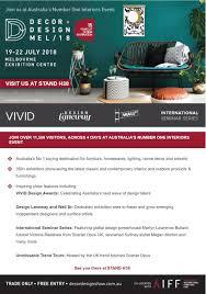 Decor And Design Melbourne 2018 Studio Elwood Showcasing At Decor Design Melbourne 2018