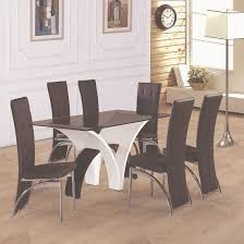 perfect dining table for 6 40 best seater wooden image on wood amerium in smoked