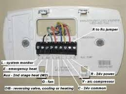 good looking thermostat 4 wire color code furnace thermostat dometic rv thermostat wiring diagram at Rv Thermostat Wiring Color Code