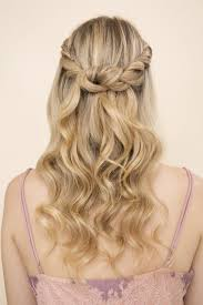 Hairstyles Half Up Down Hair Styles Glam Gowns Blog In Hairstyles