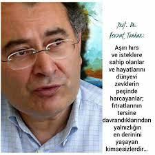Prof.Dr. Nevzat Tarhan   Psikoloji, Özlü sözler, Alıntı sözler