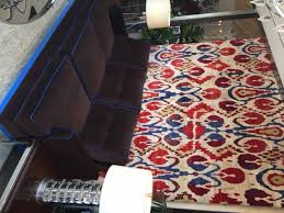 the finest ikat silk rugs