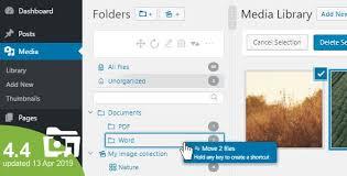 WordPress Real Media Library - Media Categories / Folders File ...