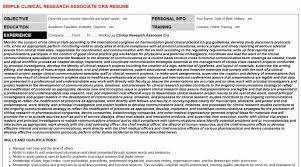 Cra Sample Resume Beautiful Clinical Research associate Cra Cover Letter &  Resume
