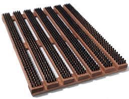 front door mats outdoor10 Easy Pieces Durable Doormats  Gardenista