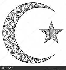 фото мусульманские знаки религиозные исламский символ звезда и