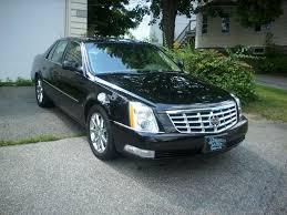 Black Cadillac Dts