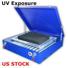 silk screen printing uv exposure unit plate developing photoreceptive 28x25 inch
