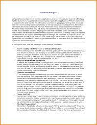 Statement Of Purpose Graduate School Example 6 Statement Of Purpose Graduate School Samples Phoenix