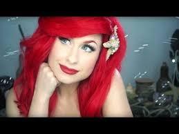 disney s little mermaid ariel makeup tutorial traci hines you cosplay la sirenita y sirenitas