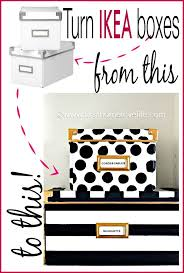 ikea office storage boxes. Kate Spade Inspired Storage Boxes Ikea Office M