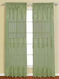 valerie curtain with attached valance blue united view all curtains