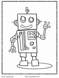 Small Picture Brilliant Beginnings Preschool Robot Coloring Pages Robots