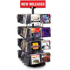 countertop cd display spinner image