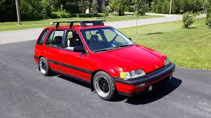 For Sale: 4WD Honda Civic Wagon with a DOHC ZC Inline-Four ...
