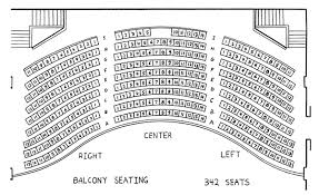 Bryan Hall Theatre Seating Chart School Of Music