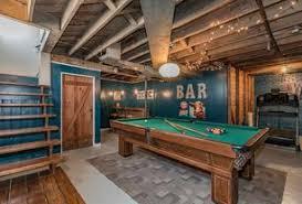 game room lighting ideas. rustic game room with high ceiling hardwood floors flush light exposed beam lighting ideas