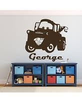 disney office decor. Tow Mater Wall Decal - Disney Pixar Cars Personalized Decor Removable Vinyl Decoration For Office O