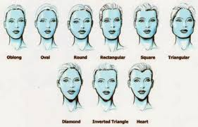 makeup for round long or square faces