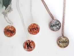home necklaces mom