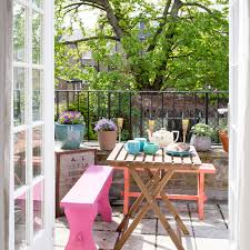 furniture for small balcony. 18 Painted Garden Furniture Small Ideas David Giles For Balcony T
