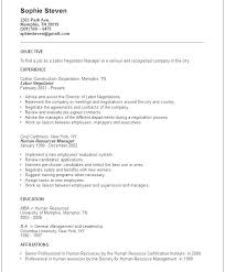 Career Objective Resume Examples Resume Profession Goal Samples