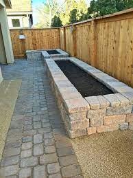 75 brick raised garden bed design ideas