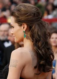 Angelina Jolie Hair Style angelina jolie half updo hairstyle hairstyles easy hairstyles 1026 by wearticles.com